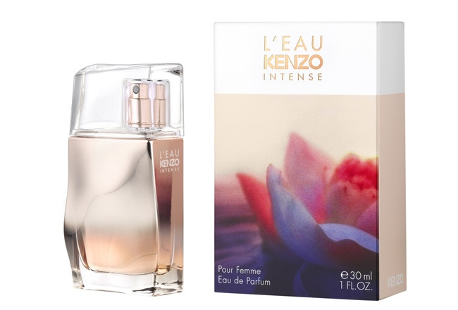l eau kenzo intense pour femme kenzo perfume a new fragrance for women 2015. Black Bedroom Furniture Sets. Home Design Ideas