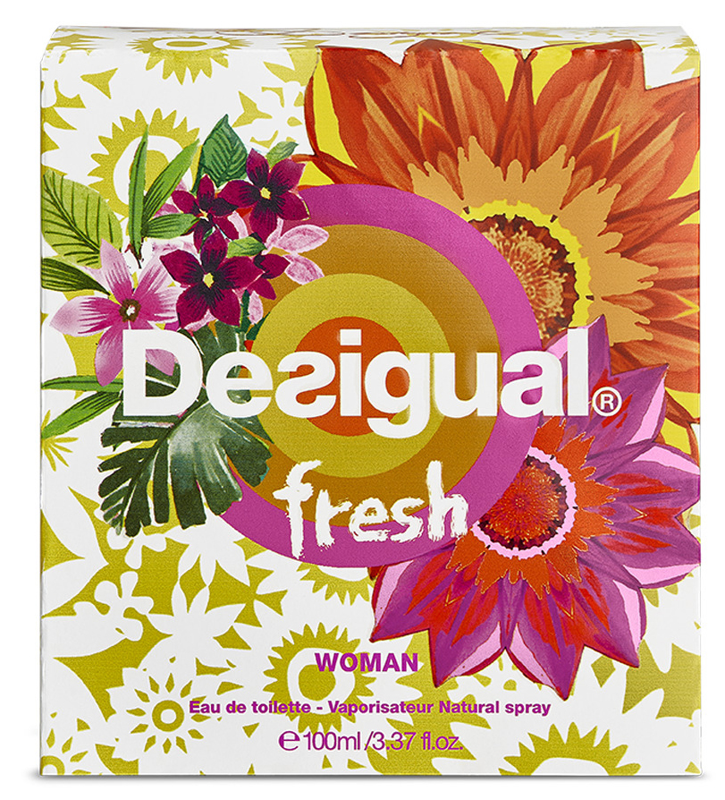 Fresh Desigual Perfume - A New Fragrance For Women 2015