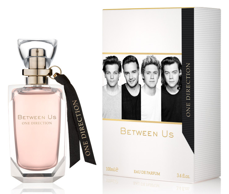 Between Us One Direction Perfume A New Fragrance For