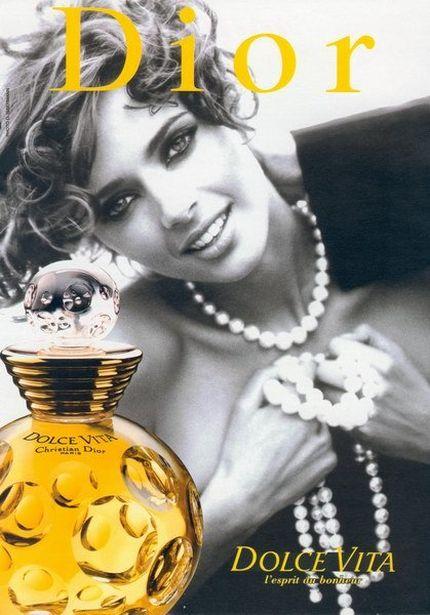 dolce vita christian dior perfume una fragancia para mujeres 1994. Black Bedroom Furniture Sets. Home Design Ideas
