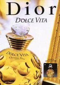 dolce vita christian dior perfume a fragrance for women 1994. Black Bedroom Furniture Sets. Home Design Ideas