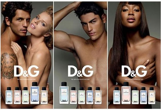 She smells like sex с L'amoureux D&G.