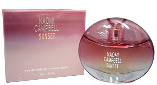 sunset naomi campbell perfume a fragrance for women 2004. Black Bedroom Furniture Sets. Home Design Ideas