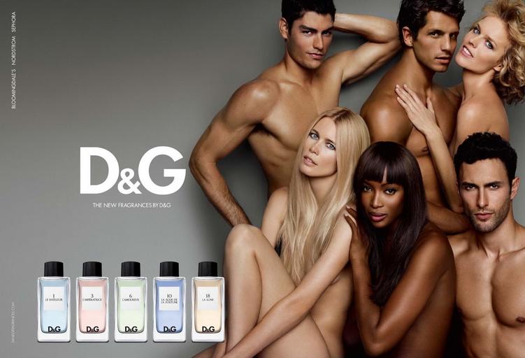 Рекламный постер D&G Anthology L`Imperatrice 3 Dolce&Gabbana для женщин