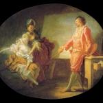 Smelling Paintings by Fragonard in Paris