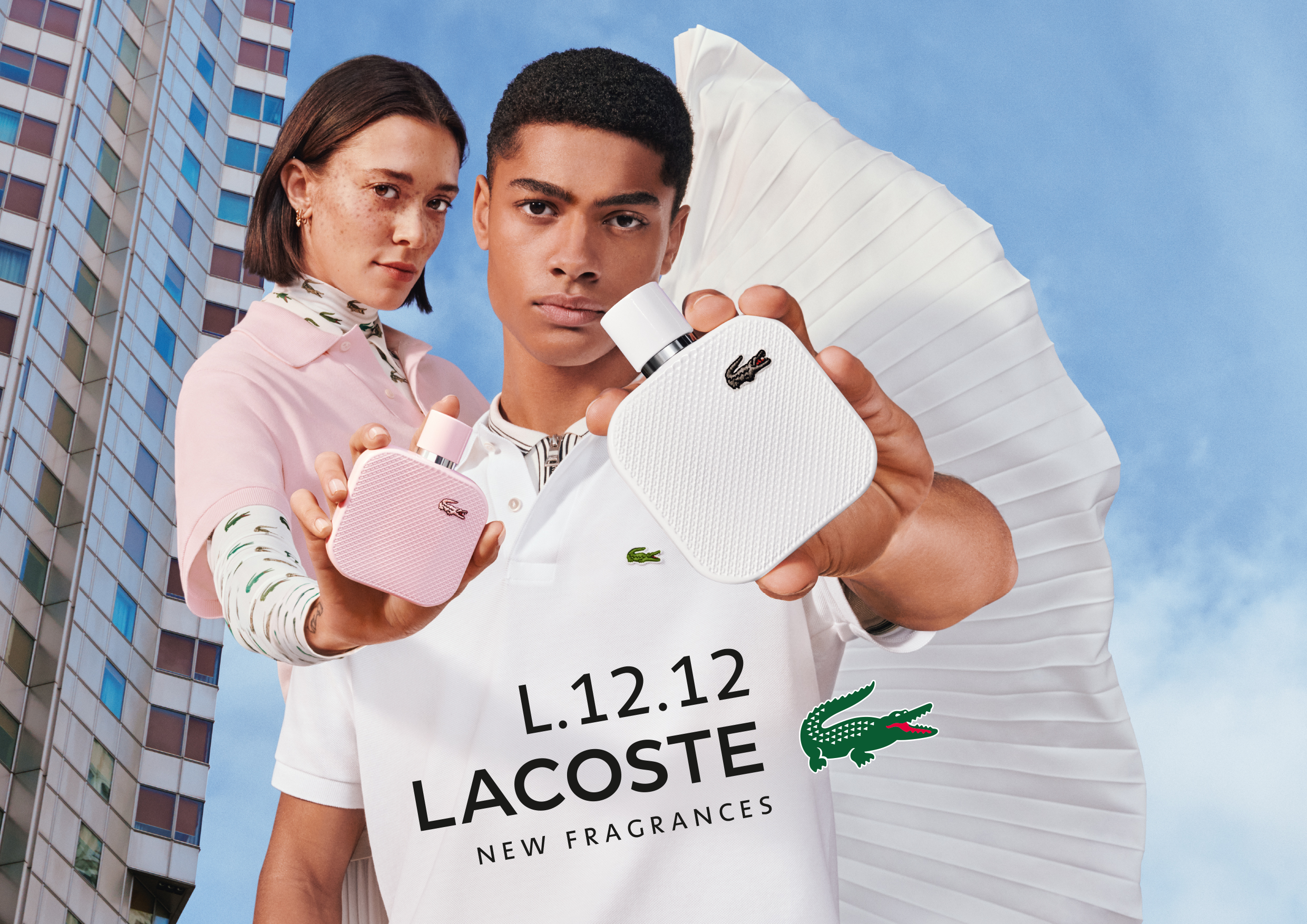 Lacoste L.12.12. Rose for Her and L.12.12 Blanc for Him ~ New Fragrances