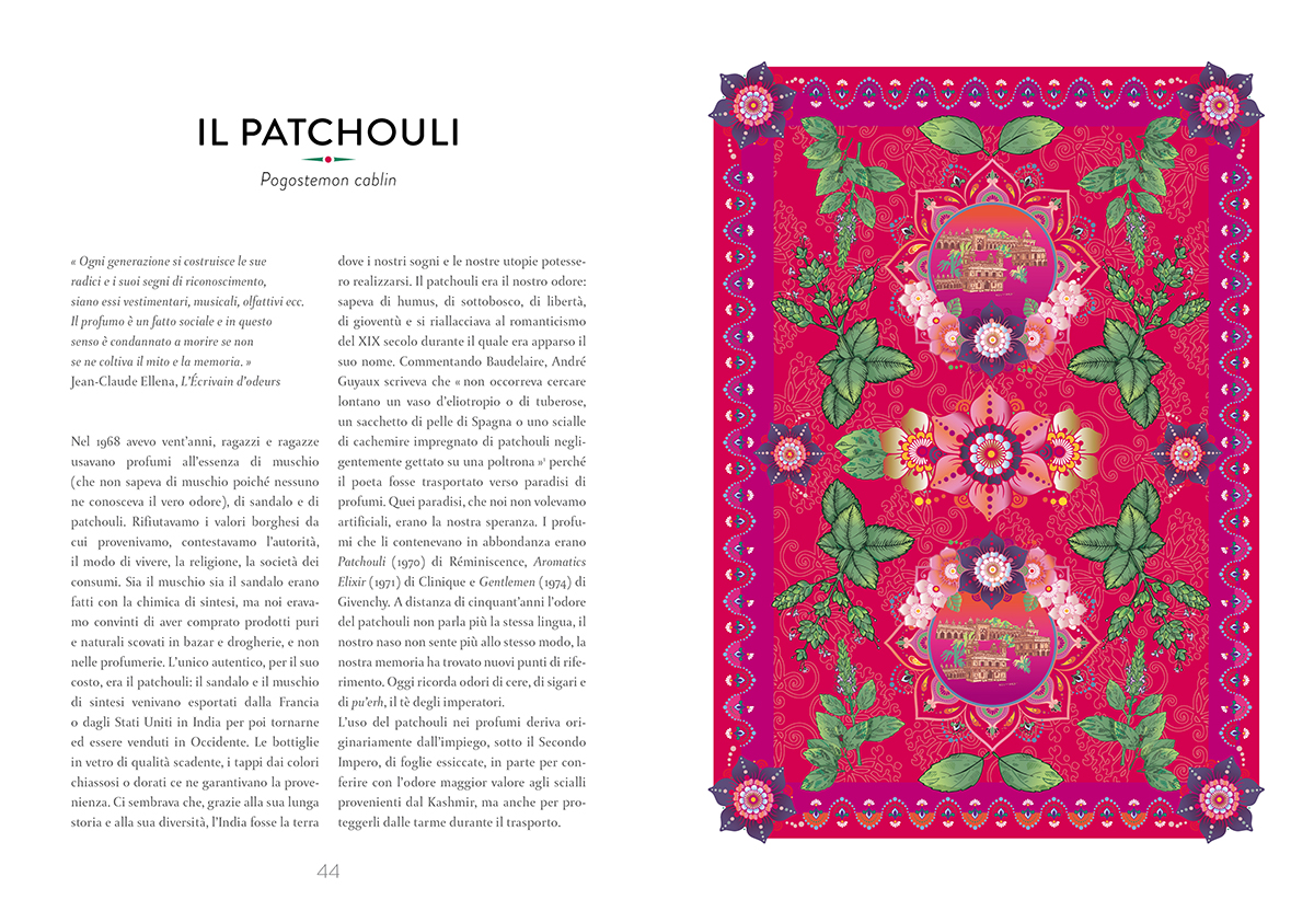 interno libro Atlante di botanica profumata
