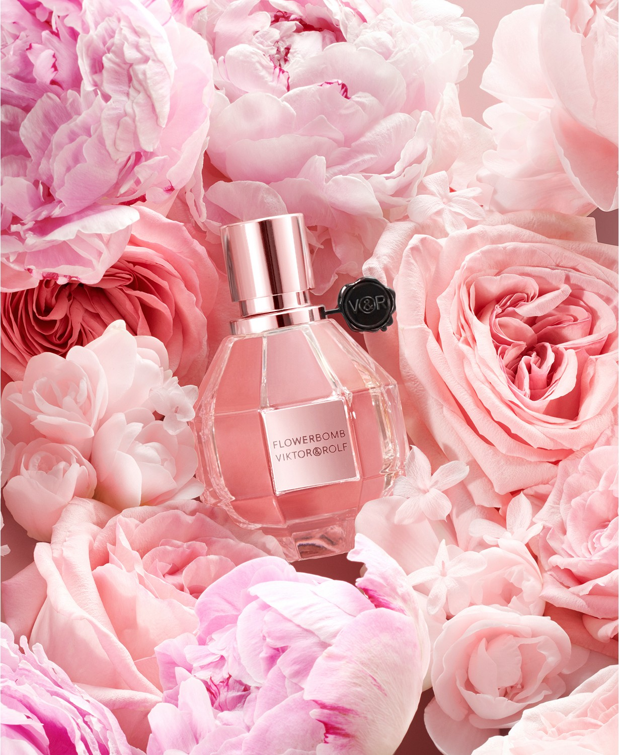 Viktor&Rolf Flowerbomb Pearly Coral Pink Limited Edition