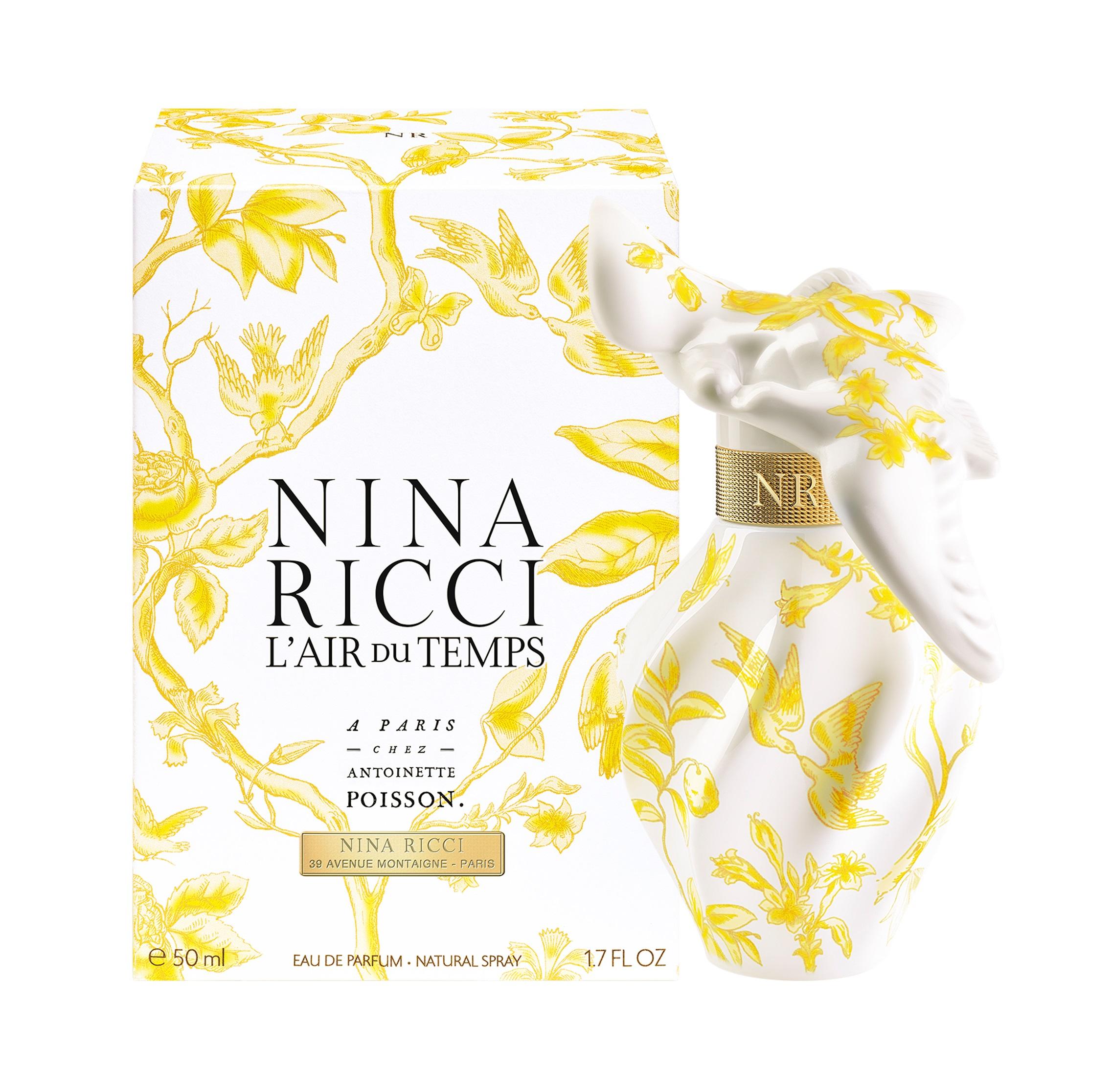 Nina Ricci L'Air du Temps À Paris chez Antoinette Poisson