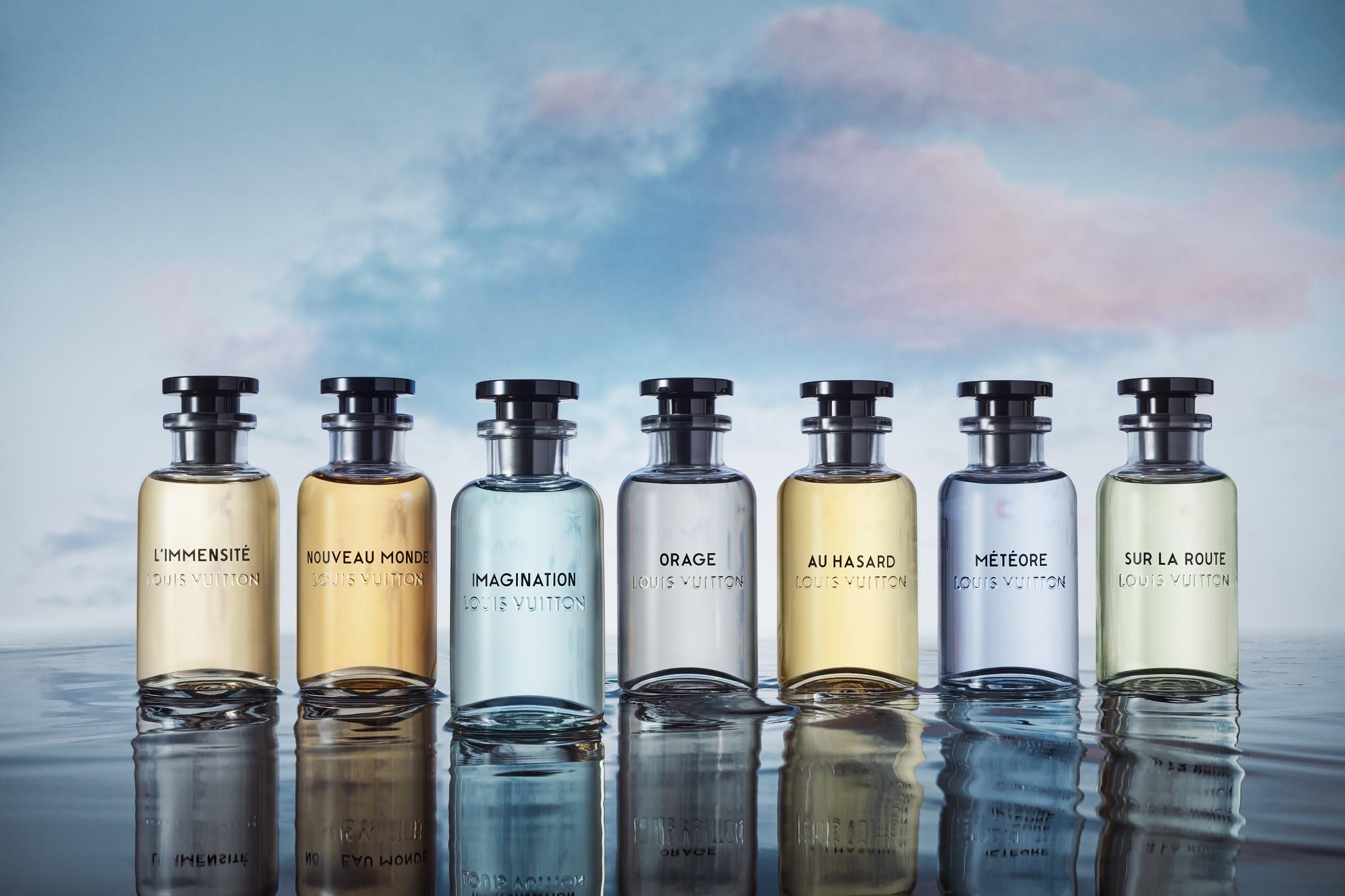 Les Parfums Trí tưởng tượng của Louis Vuitton