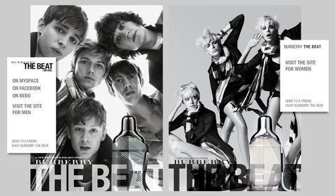 fd3de4246b3 Mini Site: www.burberrythebeat.com. Facebook: The Beat for Men MySpace  page: Burberry The Beat