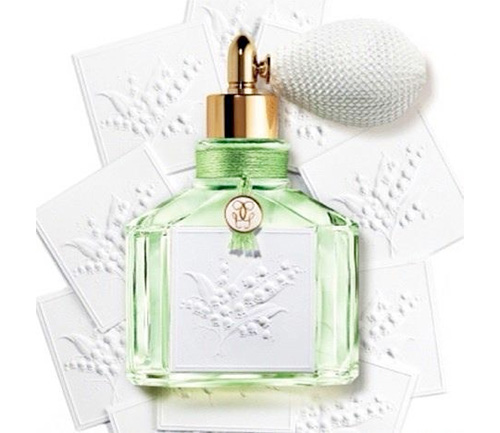 Green Grace With Lily Of The Valley New Guerlain Muguet Perfume