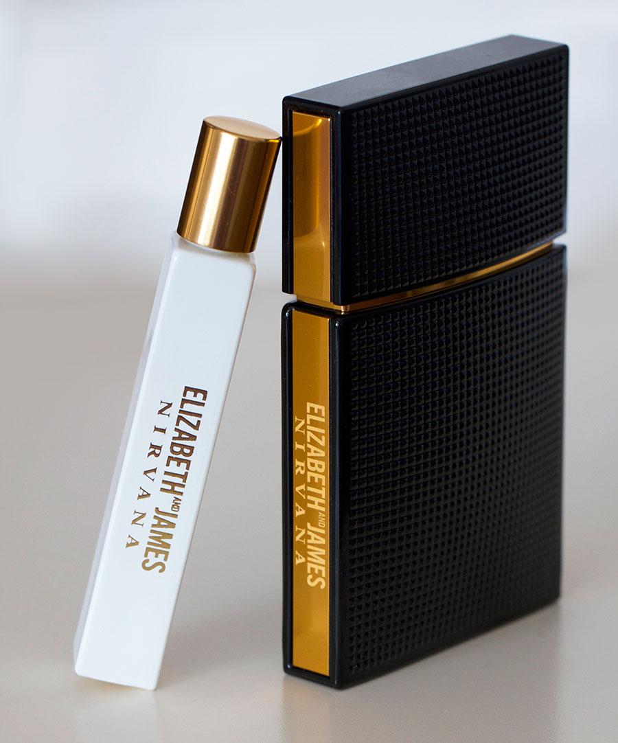 elizabeth james nirvana perfume