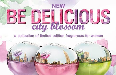 dkny perfume be delicious city blossom
