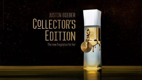 Justin Bieber Collector's Edition ~ Nouveaux Parfums
