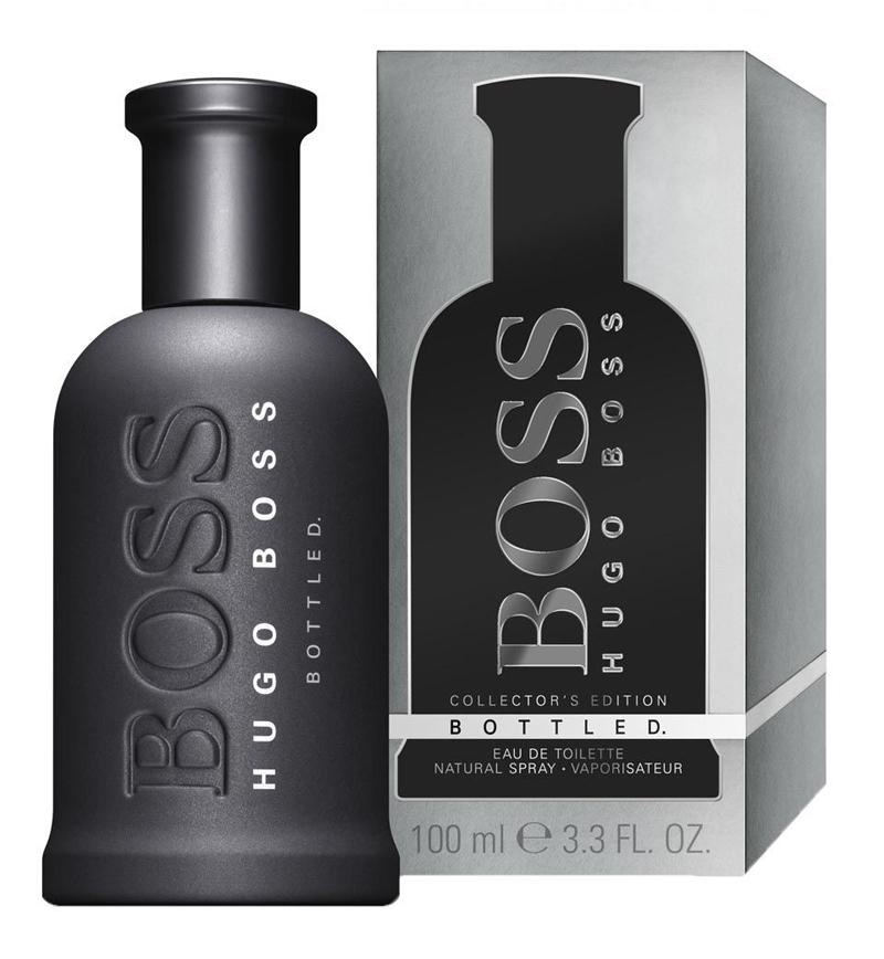 boss bottled grey