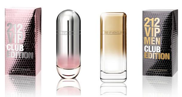 Carolina Herrera 212 Vip Club Edition новые ароматы