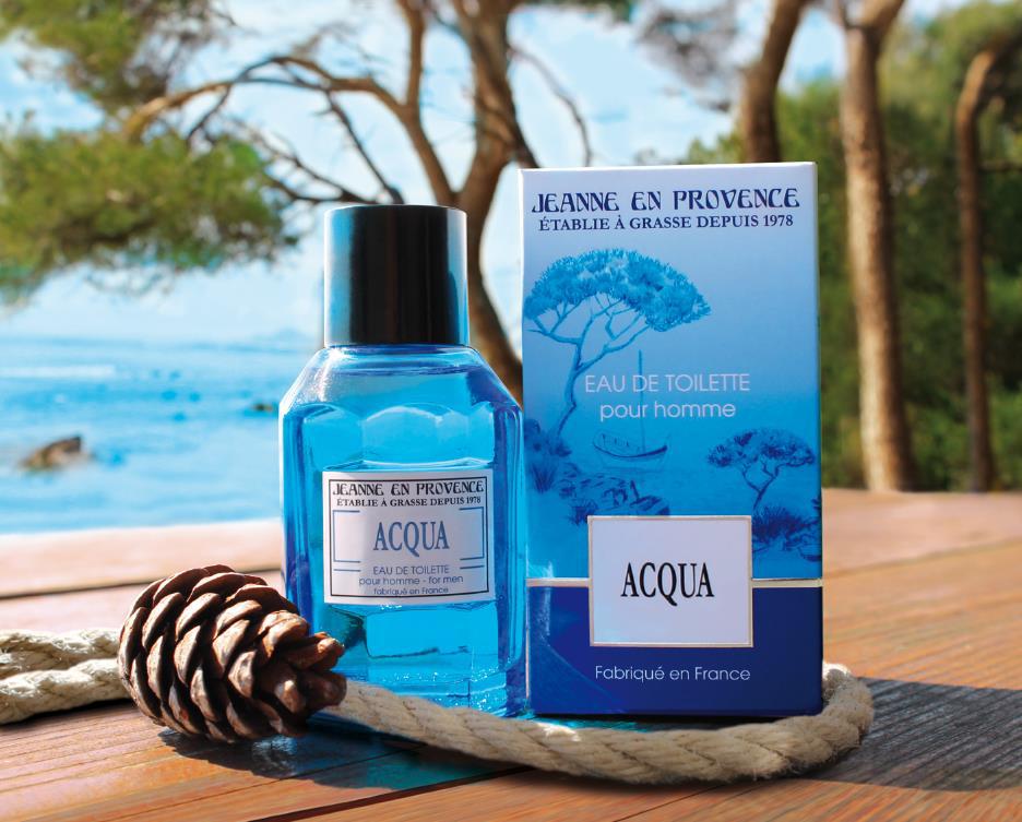 Nouveaux Jeanne Acqua Pour En ~ Homme Parfums Provence vmN0nw8