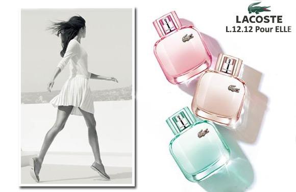 9bab0609d Lacoste Eau de Lacoste L.12.12 Pour Elle ~ إصدار جديد