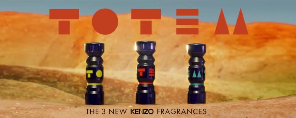 Kenzo Totem жёлтый оранжевый синий новые ароматы