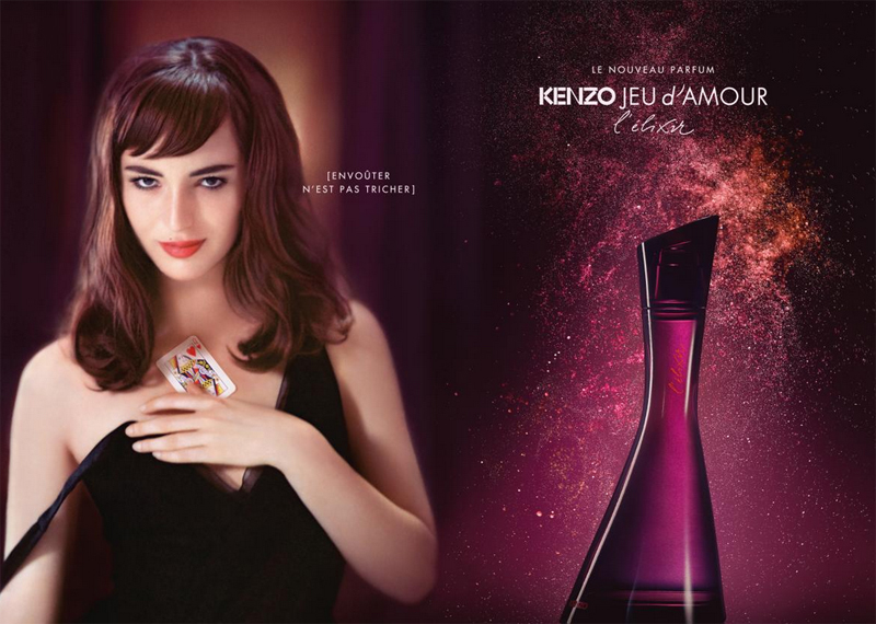 Kenzo ~ Parfums Nouveaux D'amour L'elixir Jeu ARL54j