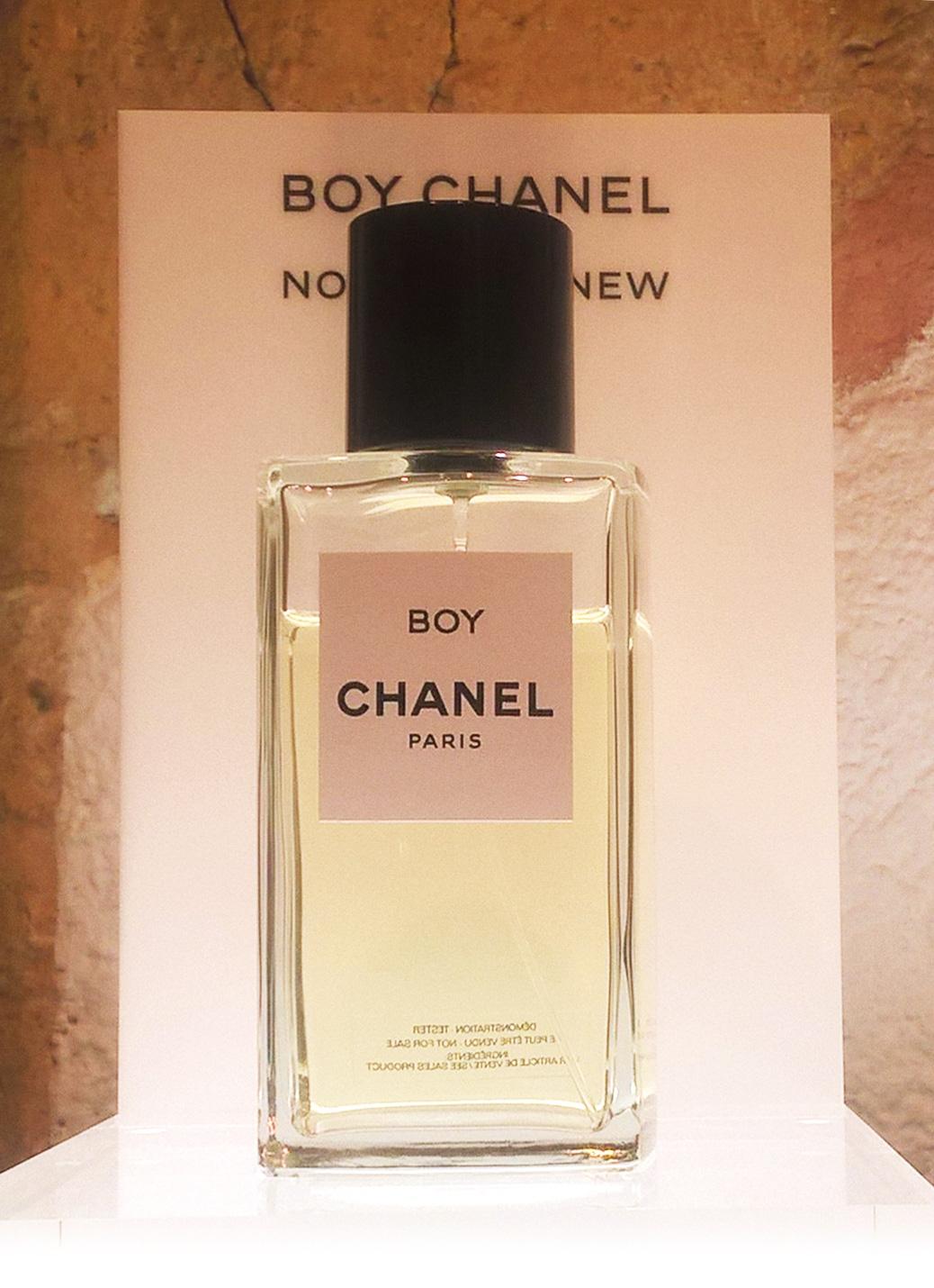 d92af670c0 Boy, le tout nouvel Exclusif de Chanel. ~ Nouveaux Parfums