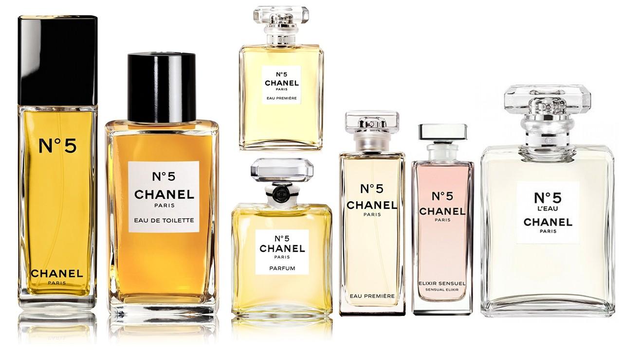 Chanel 5 и 5 Leau твёрдая пятёрка и пятёрка жидкая авторские