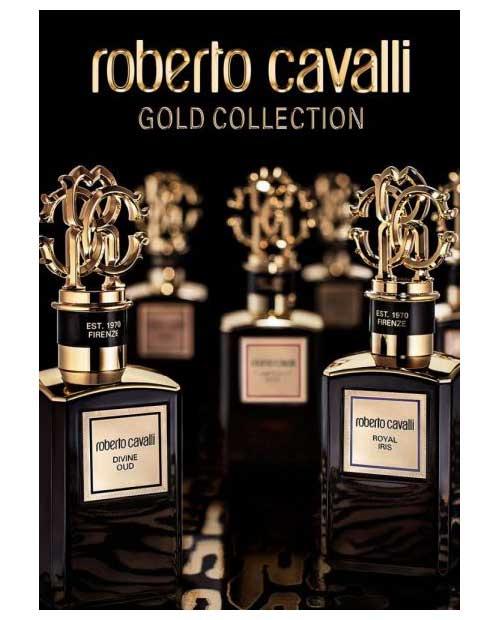 Roberto Cavalli Gold Collection New Fragrances