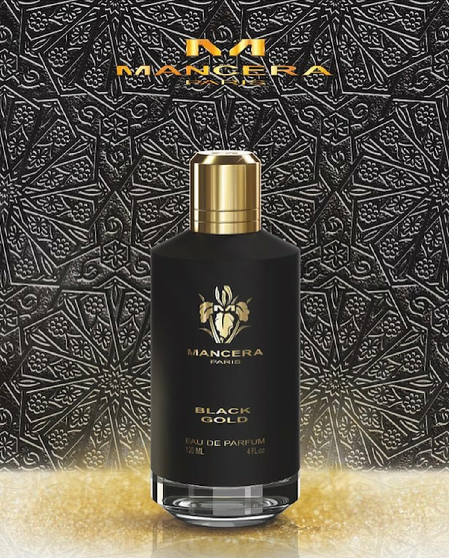 c07f56133 العطر الجديد من مانسيرا باريس Paris Black Gold ~ عطور نيش