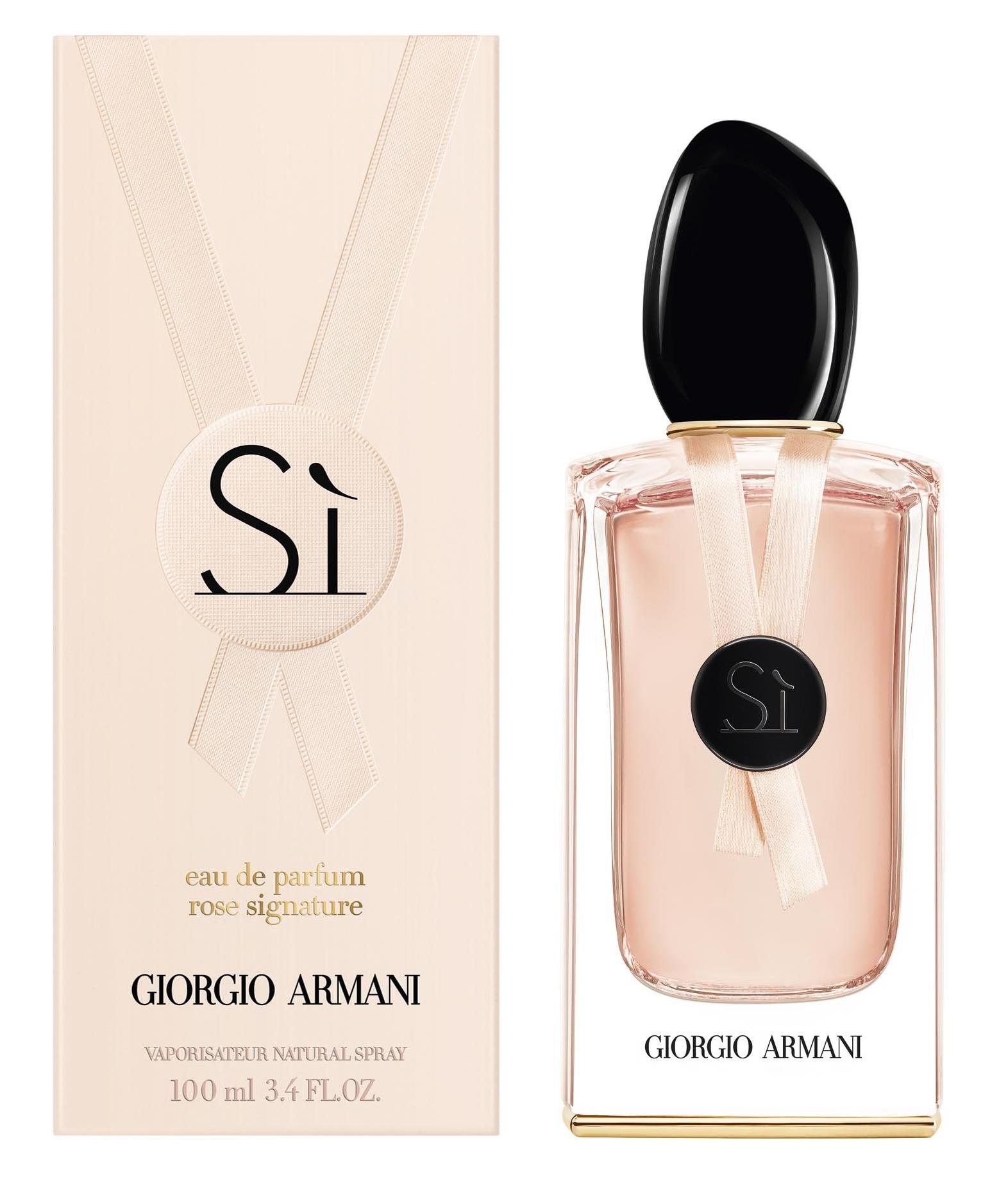 Signature ~ Ii Giorgio Nouveaux De Eau Parfum Armani Si Rose Parfums POkZuXi