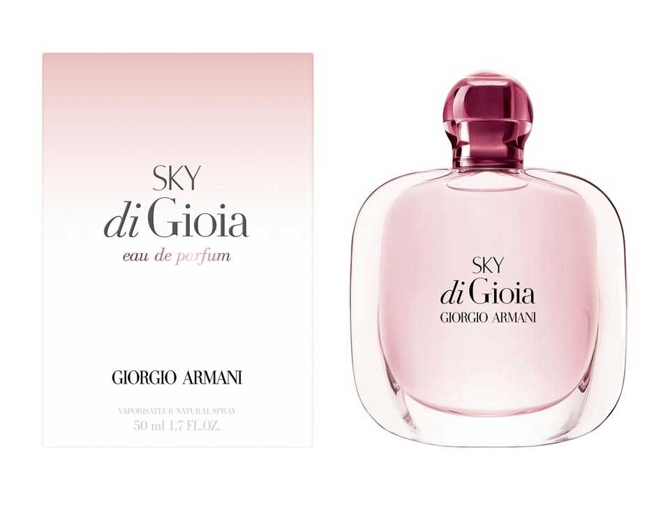 Armani Sky Di Gioia New Fragrances