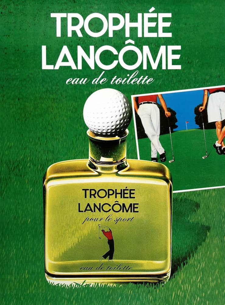Trophee Lancome Poster