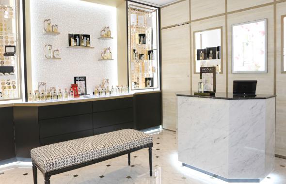 Boutique interior Nicolai Parfumeur Createur