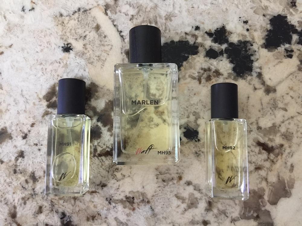 Marlen's Waft fragrances