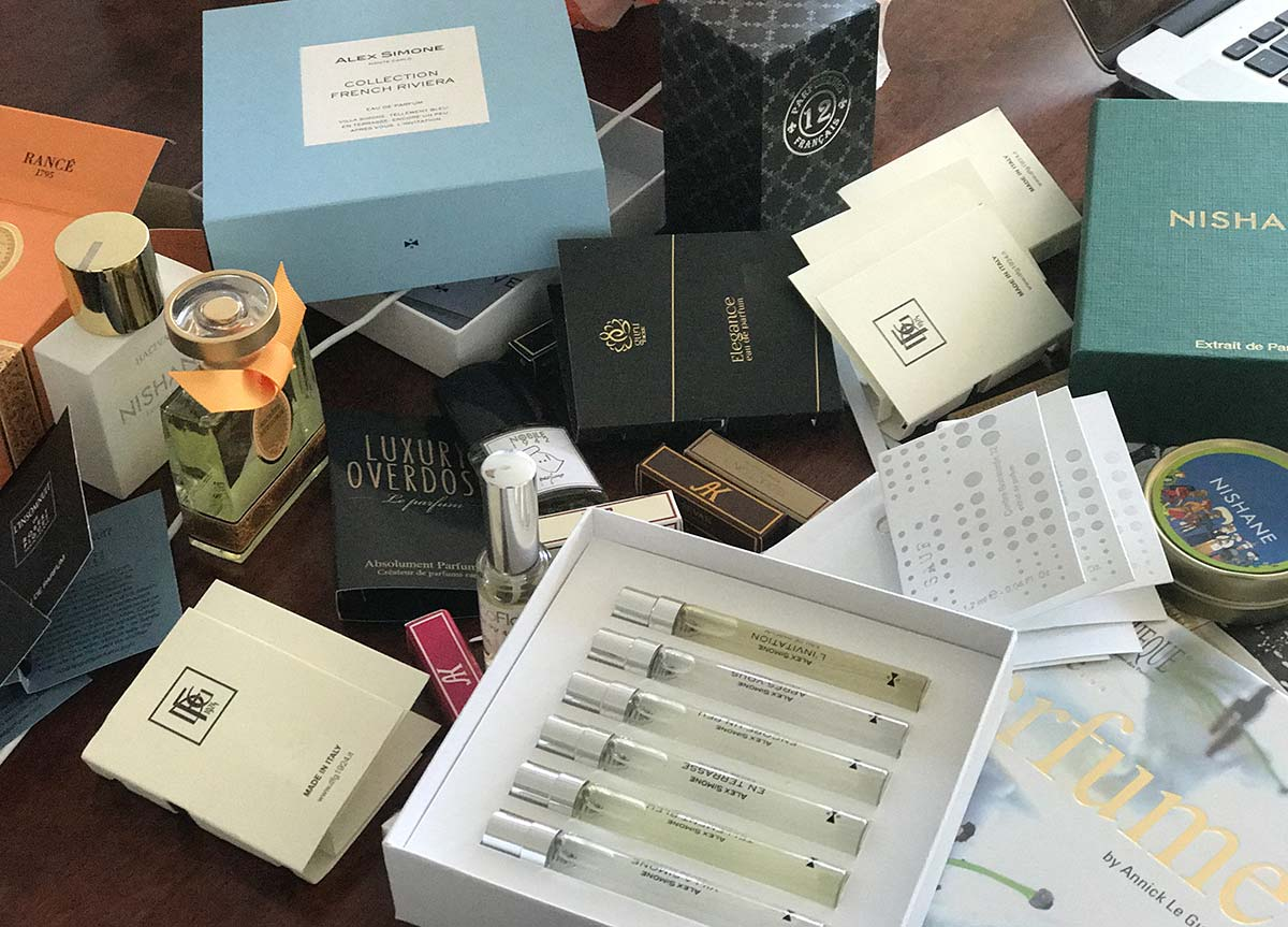 Perfume samples to try