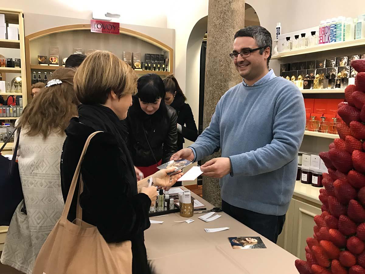 Giovanni Sammarco's presentation at Profumo