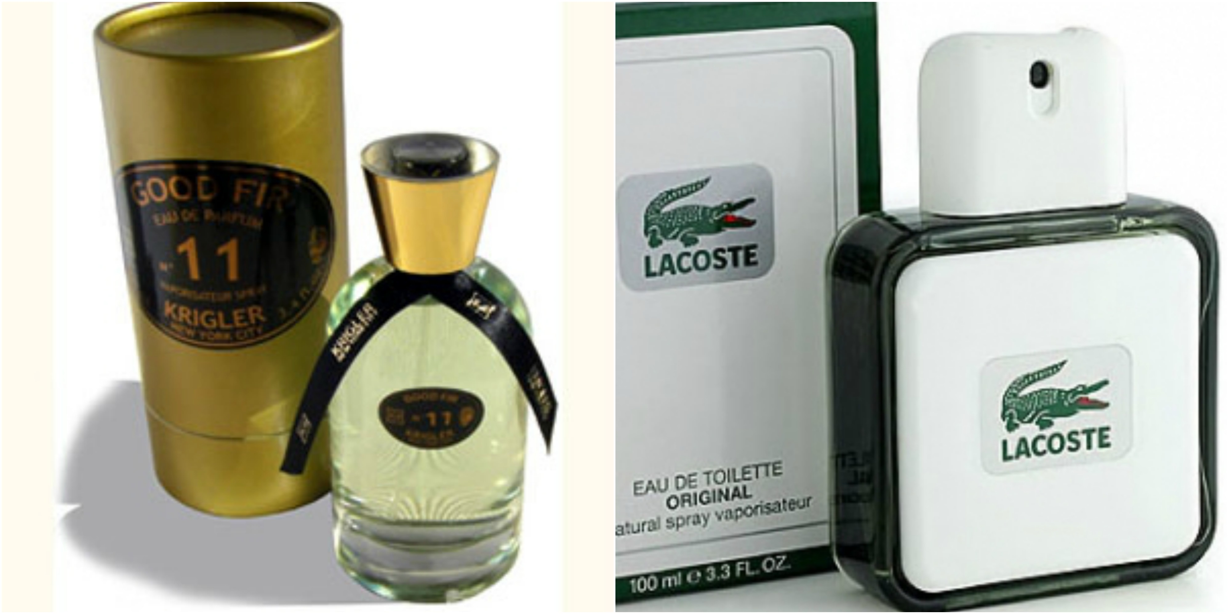 8bb3c43ee Flacons of Krigler Good Fir 11 and Lacoste Lacoste