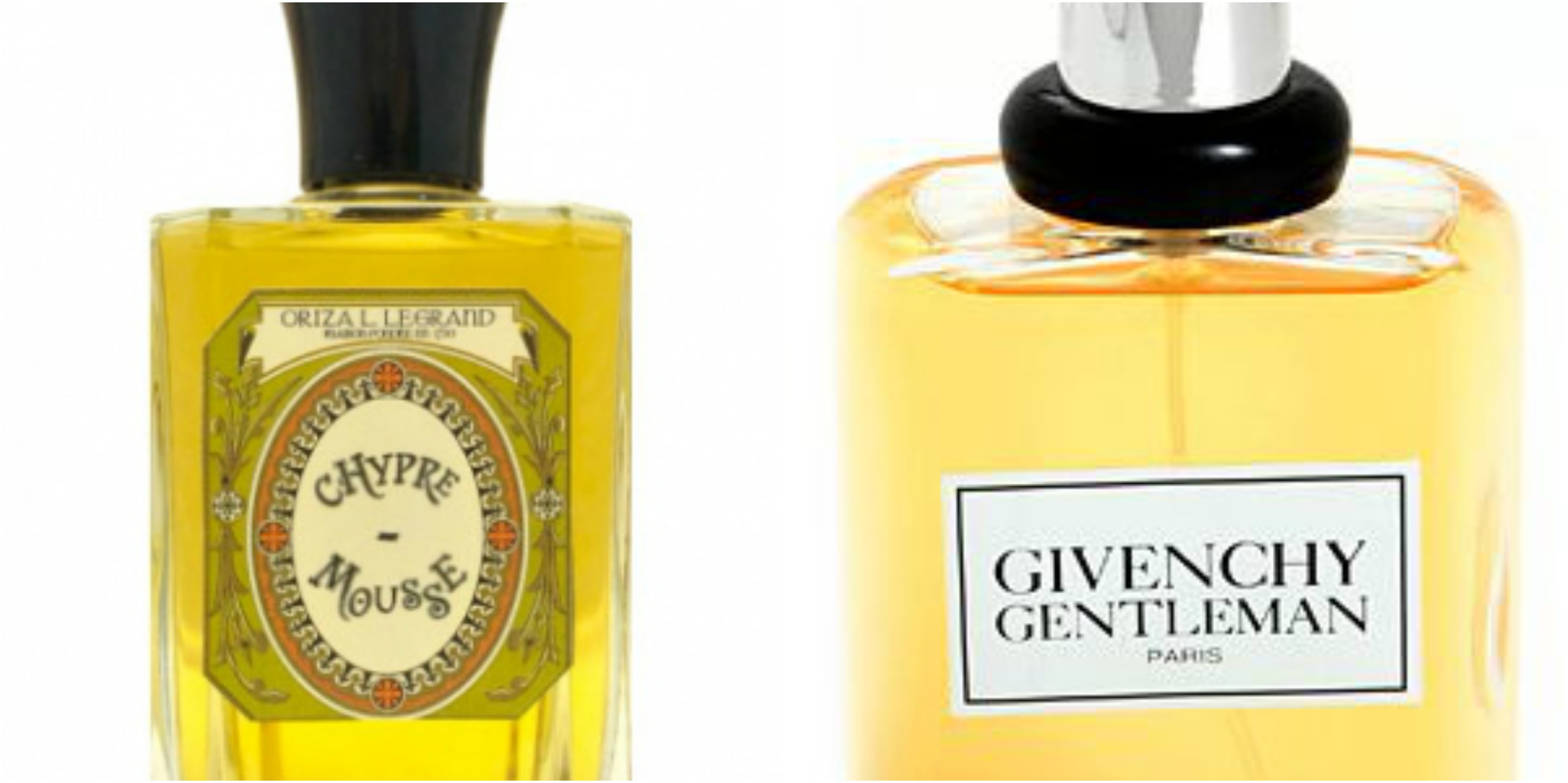 b92ae968b Flacons of Oriza L. Legrand Chypre Mousse and Givenchy Gentleman