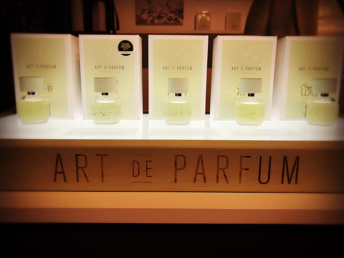 Art de Parfum flacons op Esxence