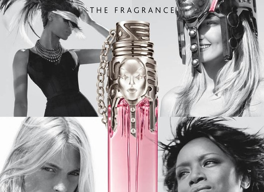 Thierry Mugler womanity collage