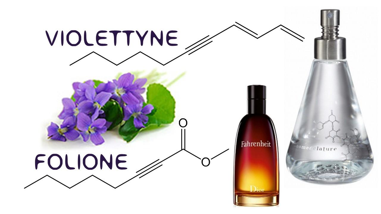 Folione & Violettyne chemische structuur