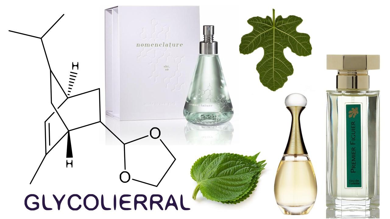 Glycolierral chemische structuur