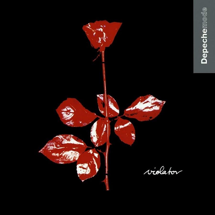 Album cover Violator by Depeche Mode