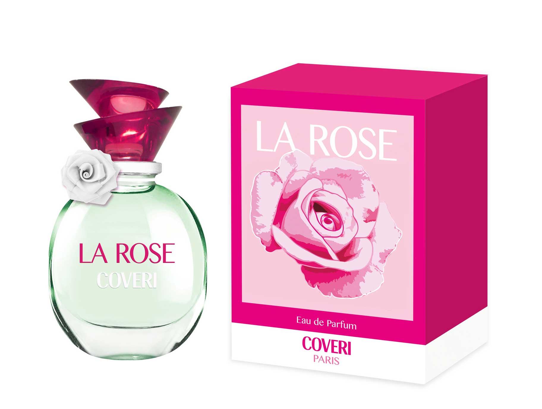 flacon en doosje La Rose Coveri