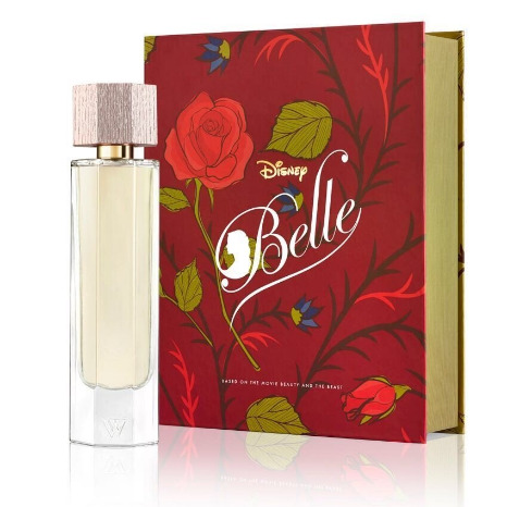 Disney and Worth team with Akita to create Belle Eau de Parfum