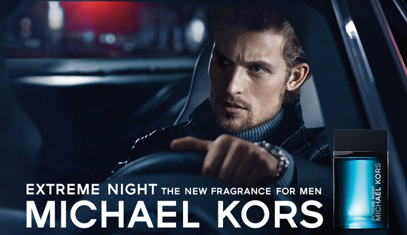 Michael Kors Extreme Night ad