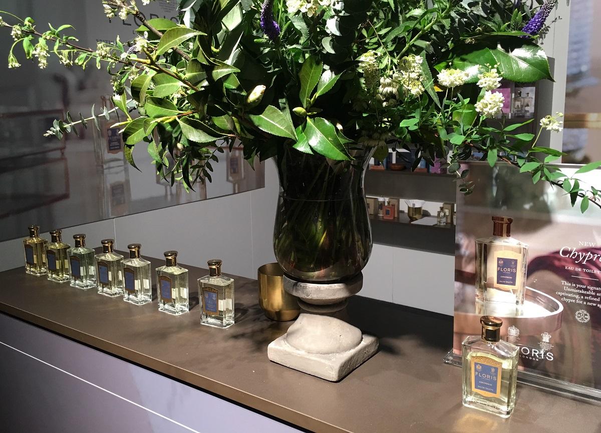 Floris stand op Esxence 2017