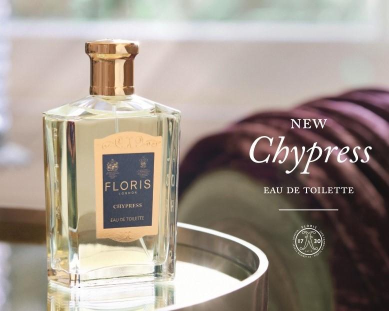 Floris Chypress reclame foto