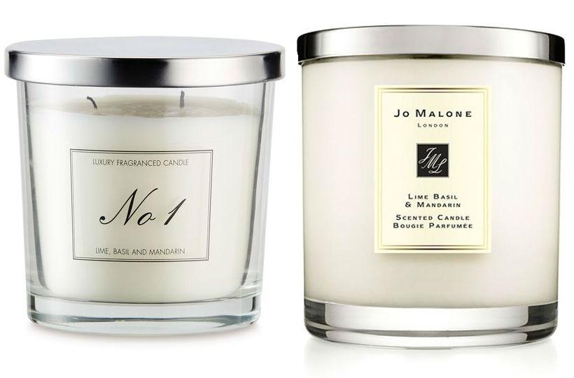 Aldi's alternative to Jo Malone candles