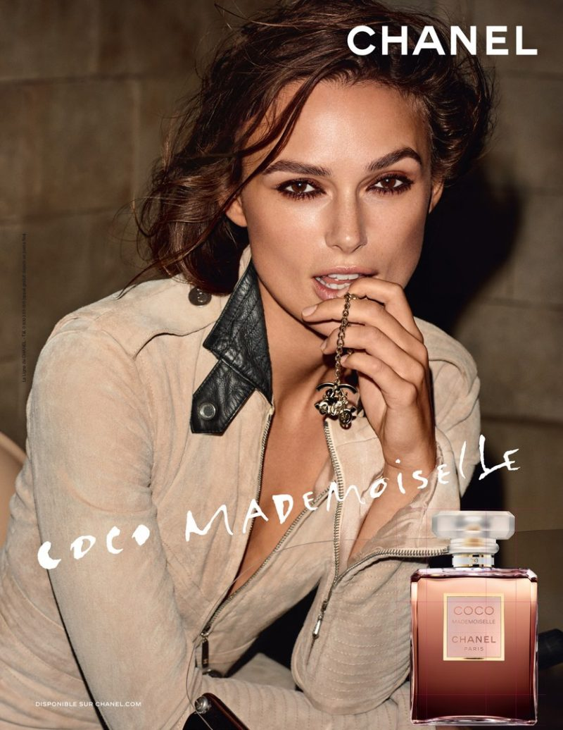 keira knightley in the new chanel coco mademoiselle campaign fragrance news. Black Bedroom Furniture Sets. Home Design Ideas